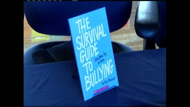Aija Mayrock Shares Her Bullying Story At Hedgesville Middle School