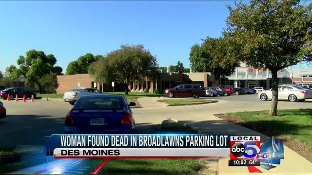 Woman S Body Found In Van At Broadlawns Medical Center