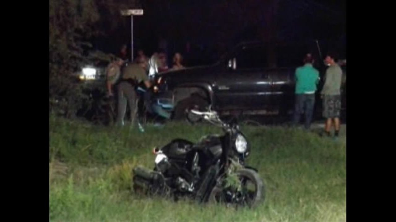 Motorcycle Driver Critically Injured in Grape Creek Crash