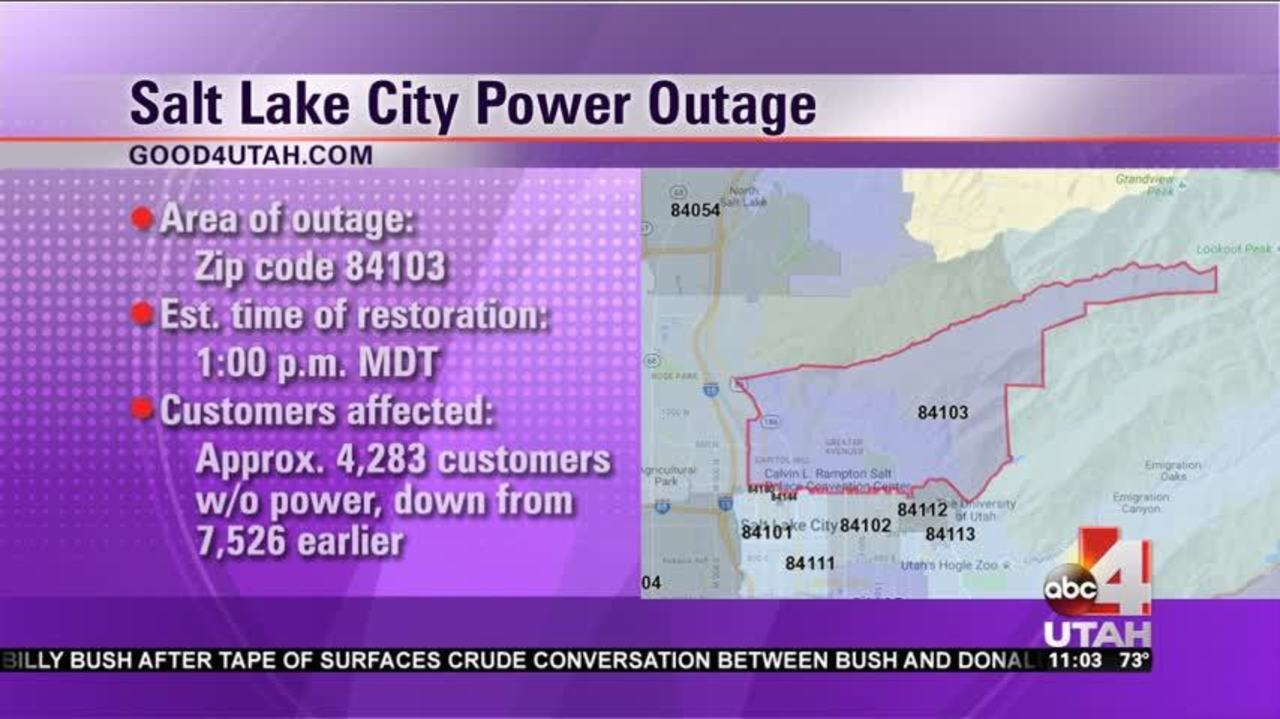 Thousands Of Rocky Mountain Power Customers Without Power