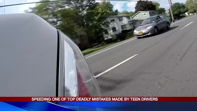 Speeding one of top deadly mistakes made by teen drivers