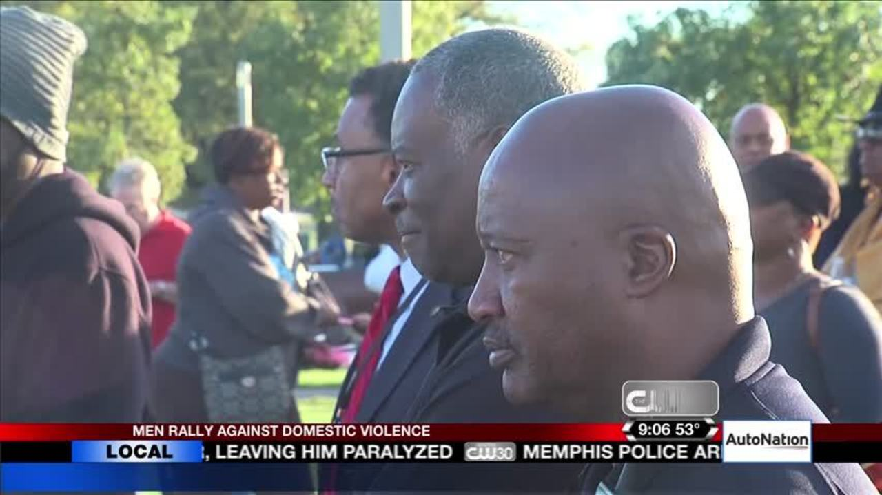Memphis Men Rally Against Domestic Violence