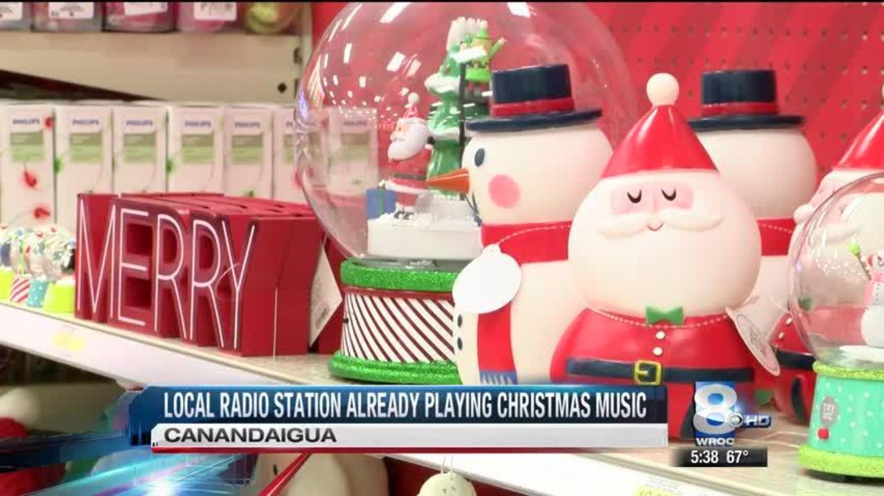 local radio station getting in the christmas spirit early - What Is The Christmas Radio Station