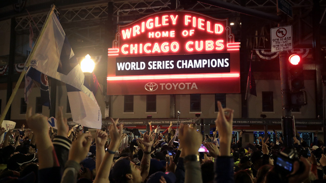 Wrigley Field earns top honors