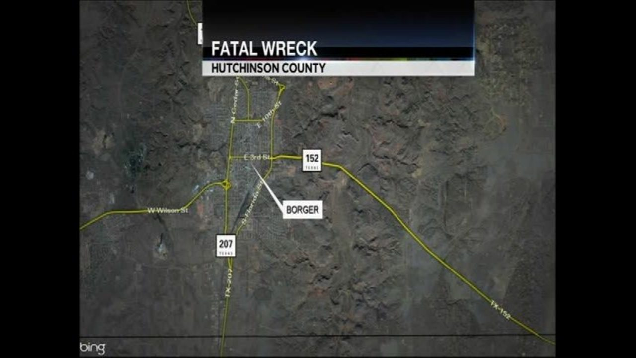 Borger Man Killed in Wreck on Highway 152