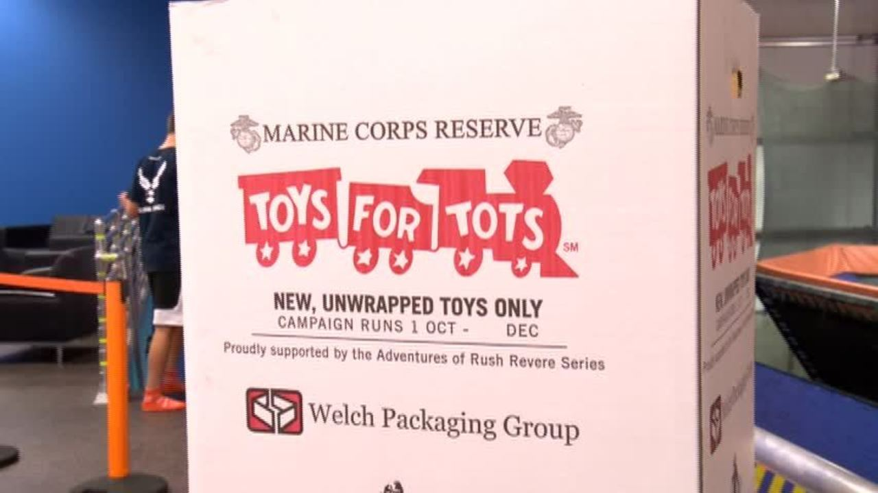 Offical Logo For Toys For Tots : Wisconsin building supply collecting toys for tots merrill foto news