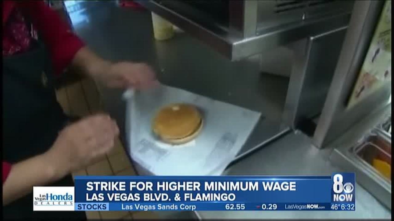 Workers Expected To Strike For Higher Minimum Wage
