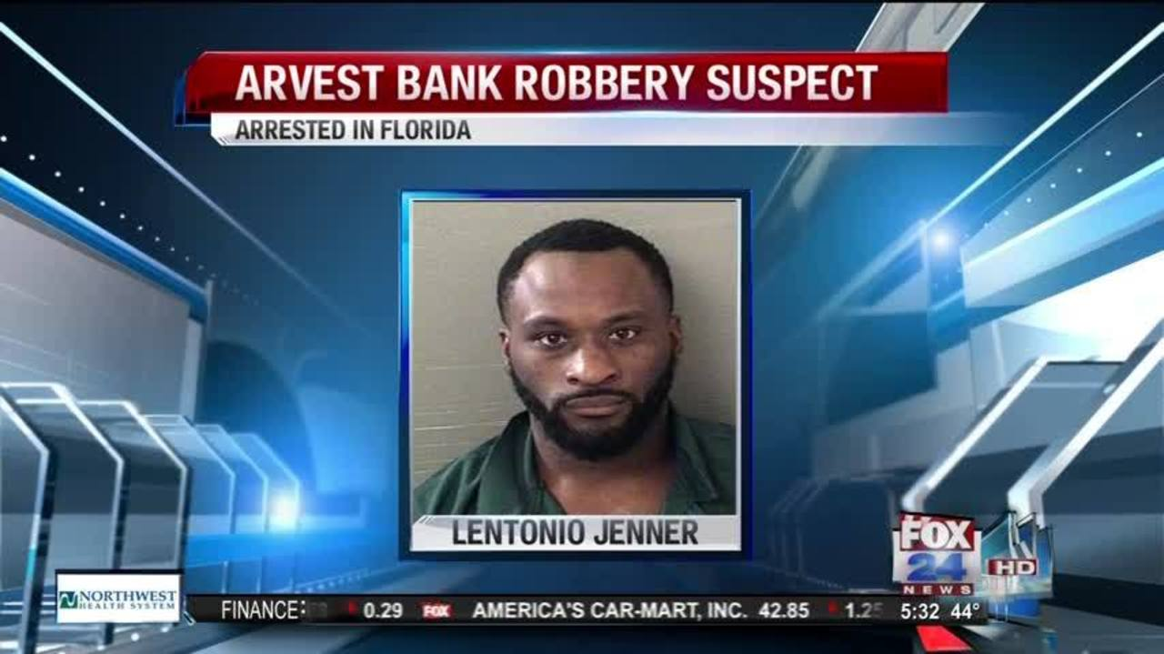 Third Arvest Bank Robbery Suspect Arrested, Search for