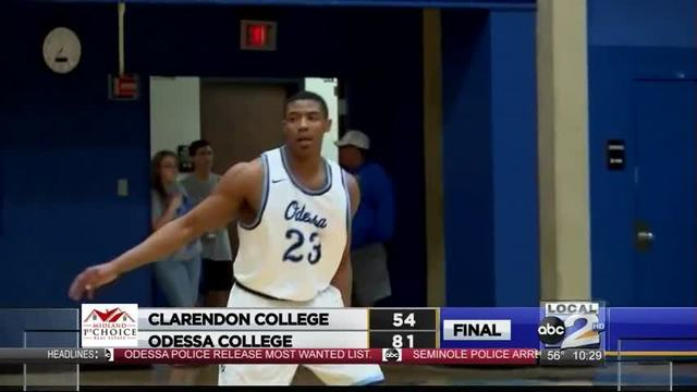 Odessa College Men, Women Sweep Clarendon College