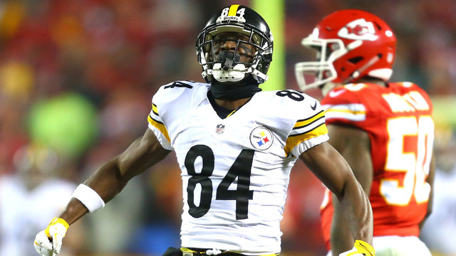 Reports: Steelers Trading Antonio Brown to the Raiders
