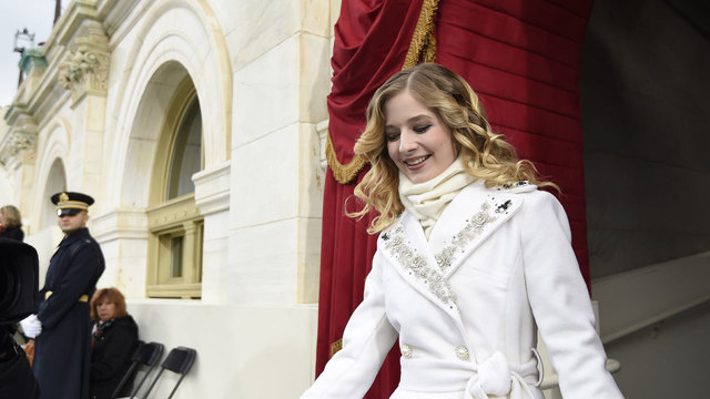 Jackie Evancho arrives at US Capitol for inauguration92025400