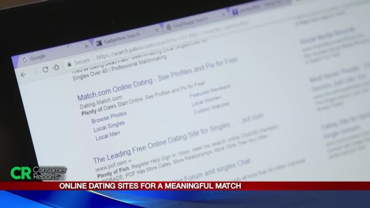 Consumer search online dating