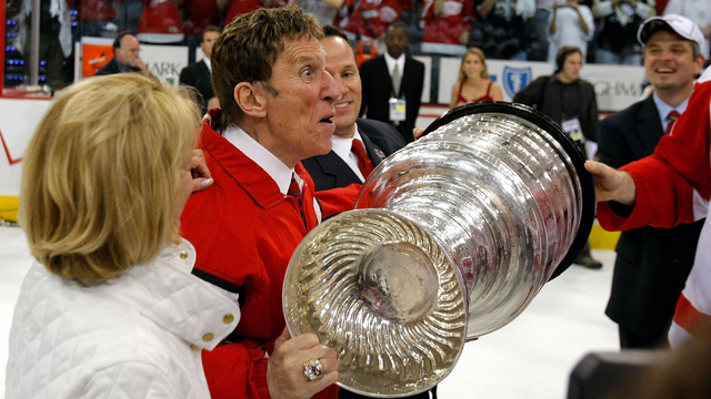 Mike Ilitch with Stanley Cup.jpg83615239