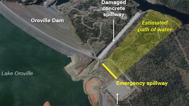 Oroville Dam: California officials ignored warnings a decade ago