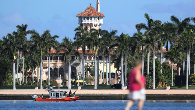 Once freewheeling, Mar-a-Lago buttons up in Trump's first year