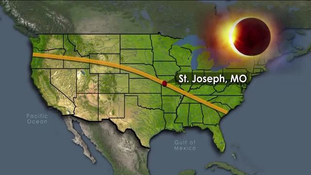 St Joseph Mo Is Prime Viewing For Upcoming Total Solar Eclipse
