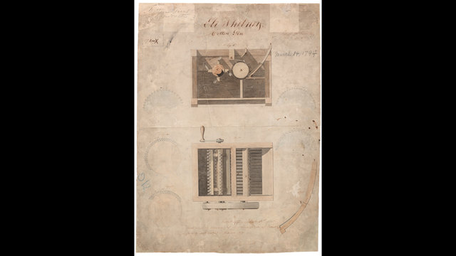 OTD March 14 - cotton gin patent03747692