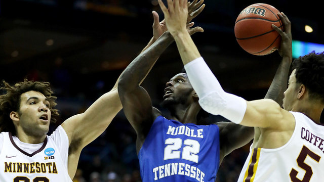 2017 NCAA tournament - Middle Tennessee State vs Minnesota82389610