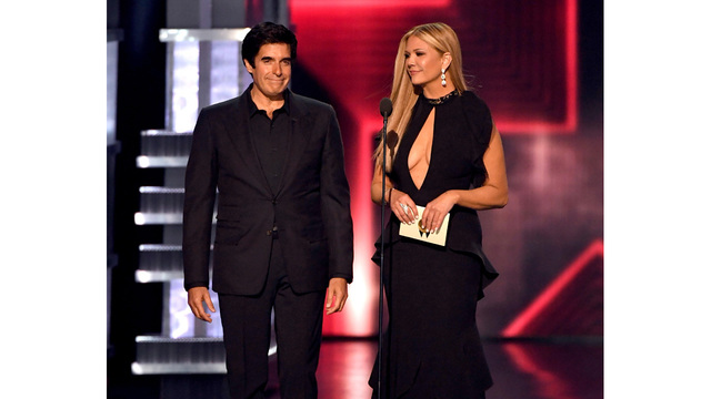 David Copperfield Nancy O'Dell Academy of Country Music Awards 201710026600