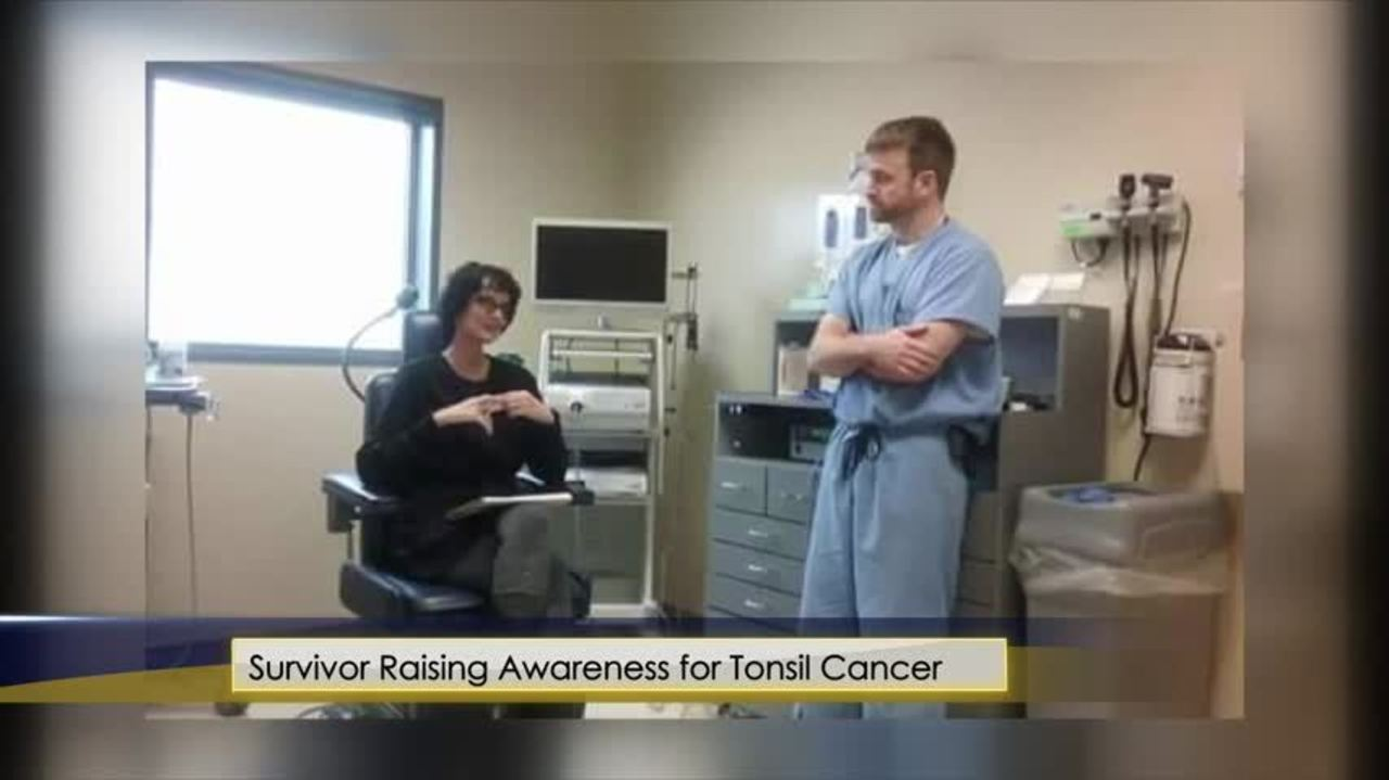 Local Woman Opens Up About Tonsil Cancer