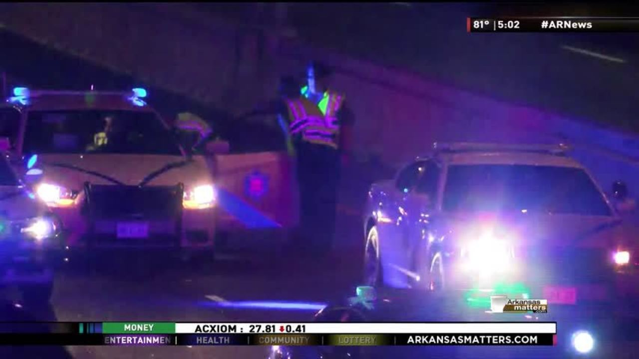 One Dead in Motorcycle Crash Saturday Night on Interstate 30 in Little