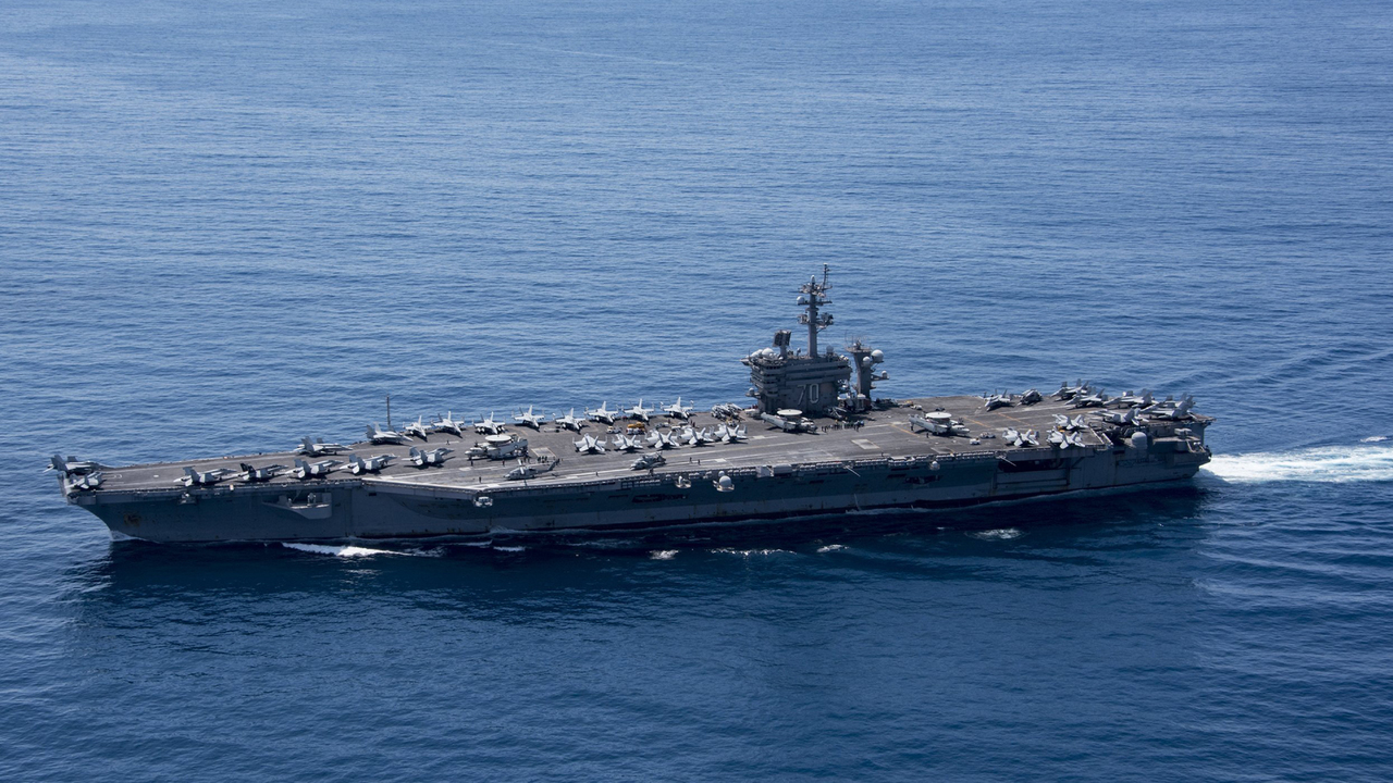 Two US aircraft carriers to train in Sea of Japan