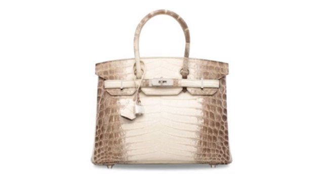 Diamond-encrusted Hermes handbag sold for a record  377 7126763d97126