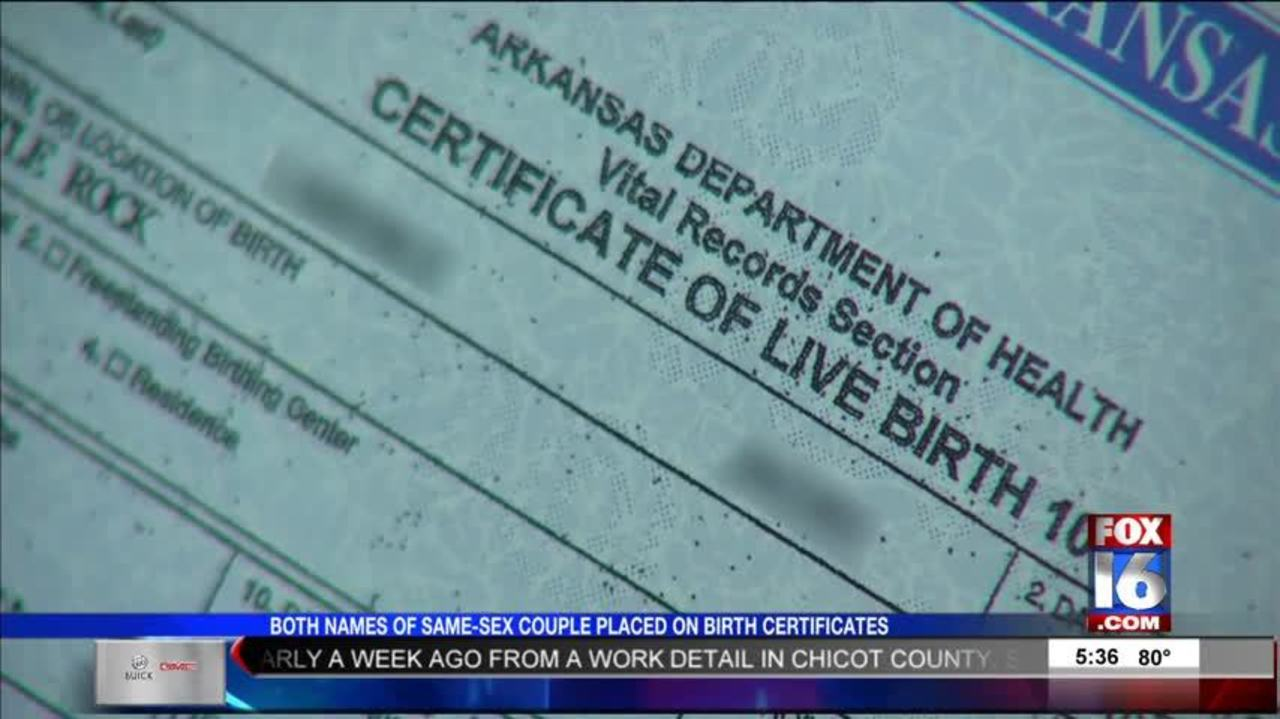 Ar Ordered By Scotus To List Both Same Sex Parents On Birth Certificates