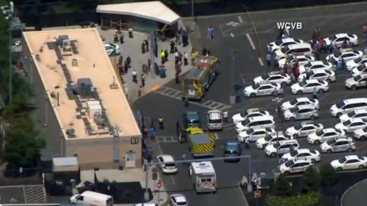 Injuries reported after vehicle strikes pedestrians at Boston airport