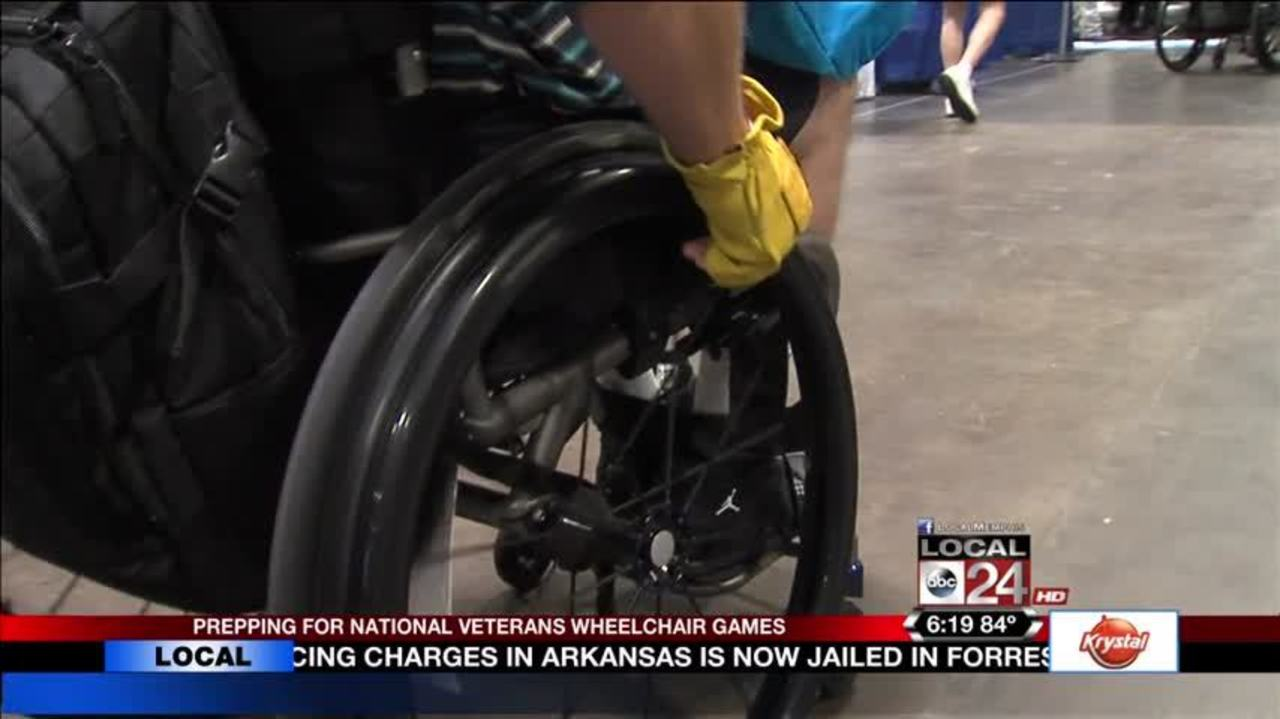 mid south veterans participate in 37th national veterans wheelchair
