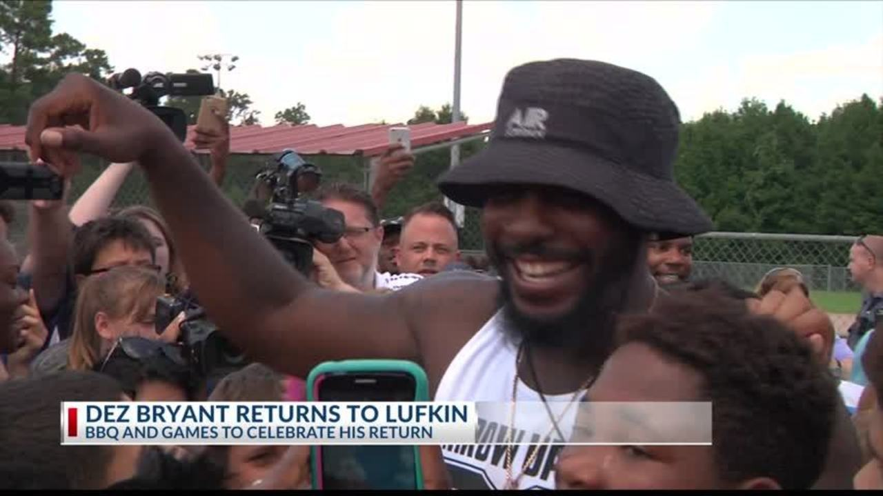 Dez Bryant Returns To Lufkin After Inviting The Whole Town