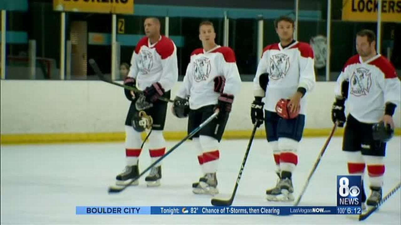 Charity Hockey Game At Sobe Ice Arena
