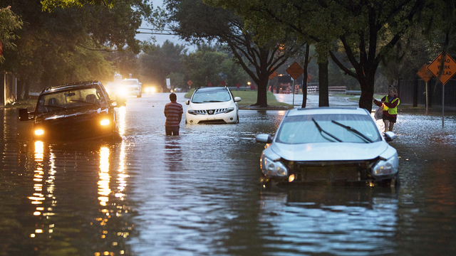 Climate change made Hurricane Harvey's rainfall worse, study finds