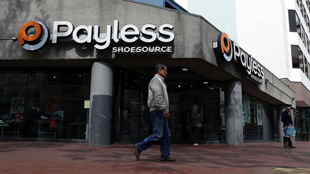 Payless to close most or all shoe stores in North America