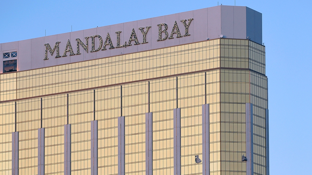 Hotel video shows Las Vegas gunman's 'normal' movements before mass shooting