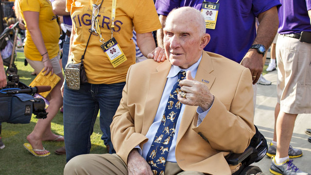 YA Tittle at 2014 LSU game07816399