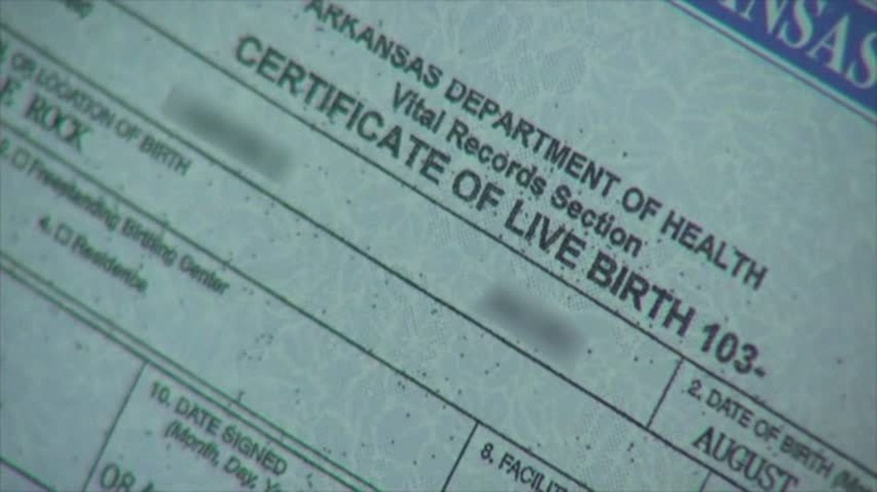 Arkansas Highest Court Wants State To Change Birth Certificate Law