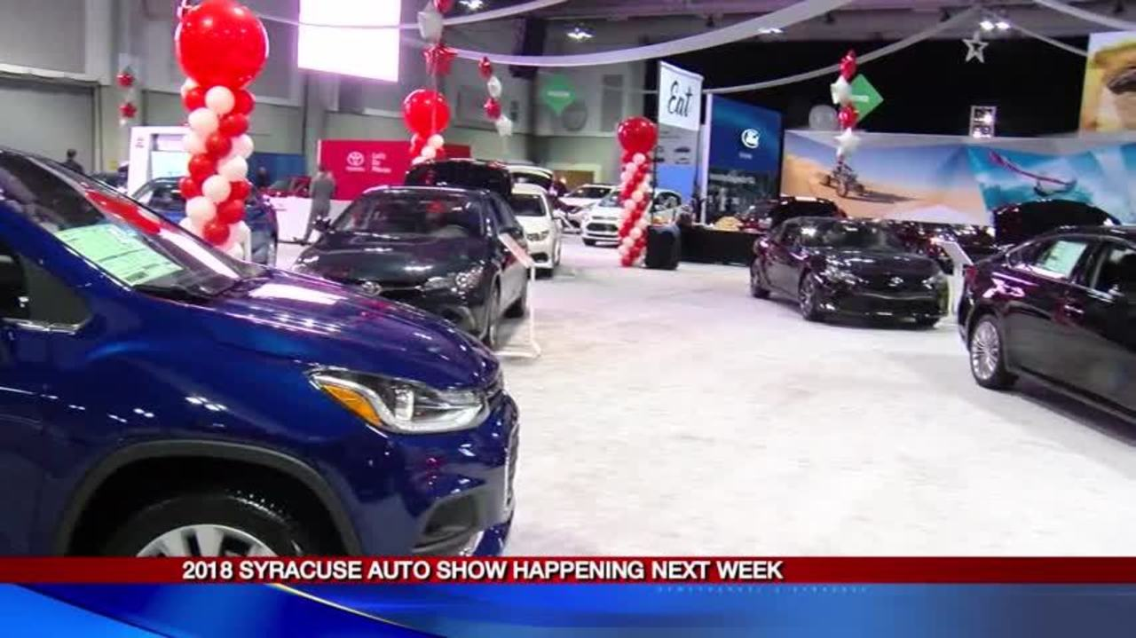 Syracuse Auto Expo To Be Held Next Week At Oncenter - Next auto show