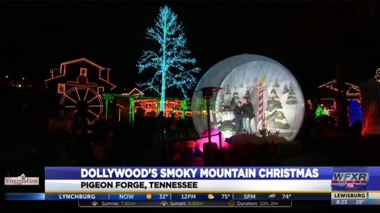 what to expect dollywoods smoky mountain christmas