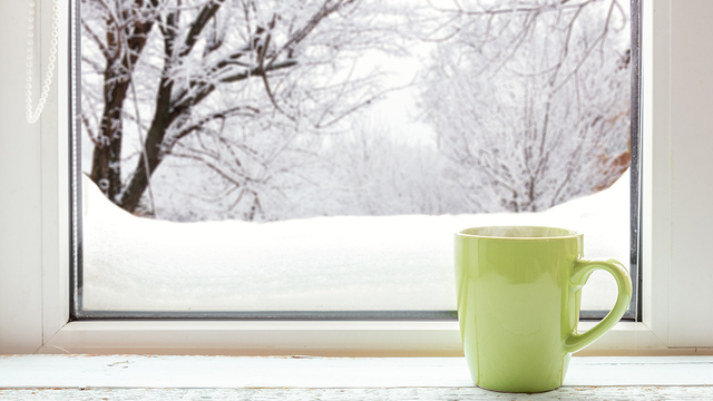 Prepare windows to keep out winter chill