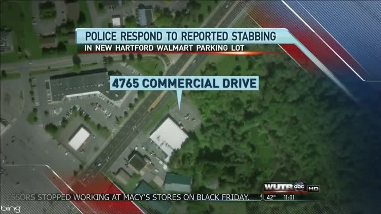 reported black friday stabbing outside new hartford store