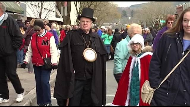 dickens of a christmas packs downtown wellsboro