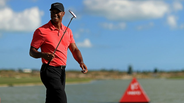 Tiger Woods after final round of 2017 Hero World Challenge35204866