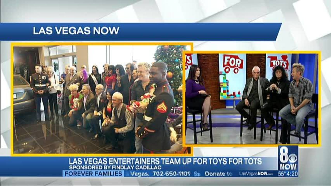 Las Vegas Toys For Tots : Entertainers team up for toys for tots