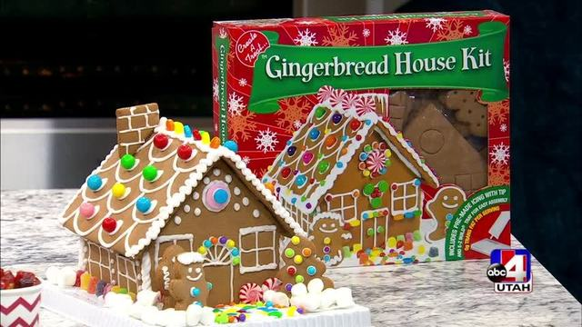 Where To Find Easy To Make Gingerbread House Kits And Supplies For The  Family