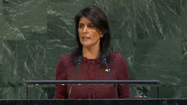 U.S. withdraws from UN Human Rights Council