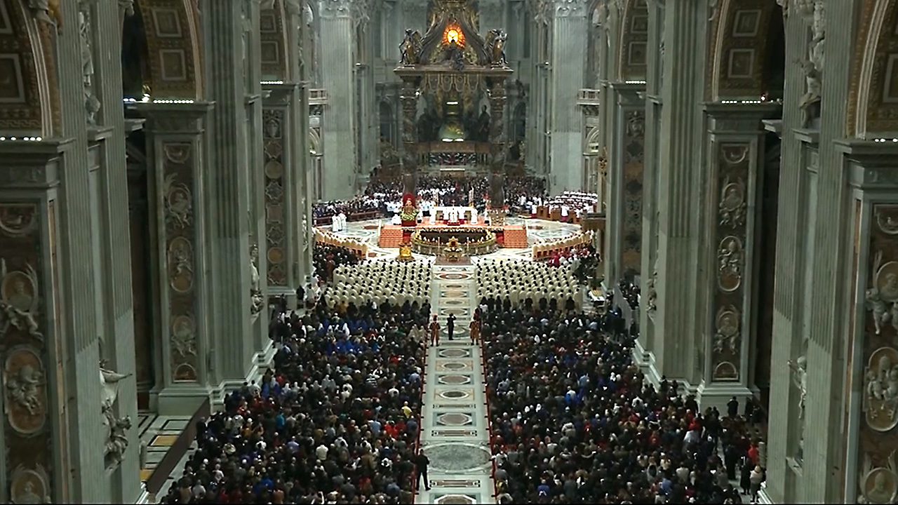 Image result for PHOTOS OF VATICAN AND POPE CHRISTMAS