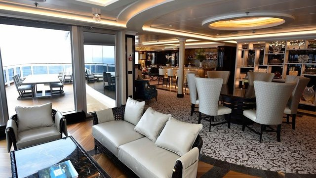 Suites at sea: The ocean's most exclusive rooms