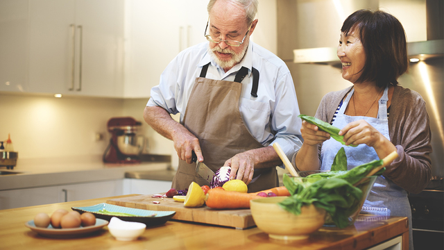 Healthy cooking for singles or couples