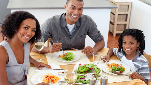 Make time for family meals this year